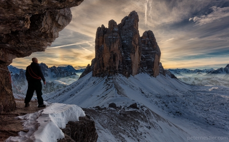 looking for something - tre cime di lavaredo dolomites italy