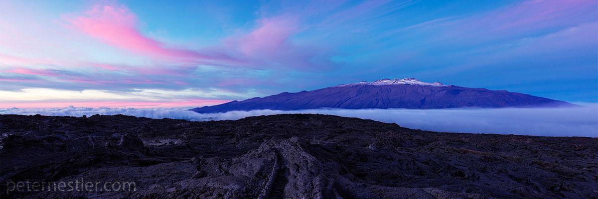 Mauna Loa Sunset Hawaii