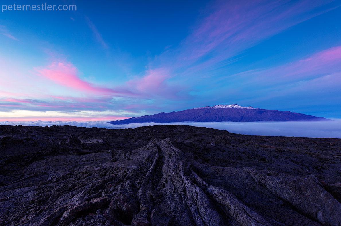 Mauna Loa Sunset