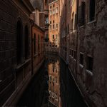venice italy canals of water
