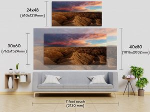 Panoramic Fine Art Picture Comparison