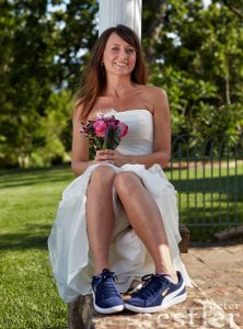 Bride with the Shoes