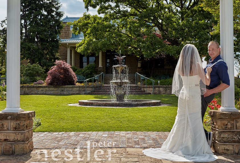 After Wedding Photos at Gilcrease Museum