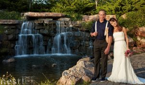 Wedding Photos Centennial Park Waterfall