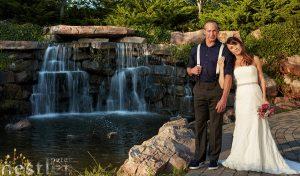 Wedding Photos Centennial Park Waterfall