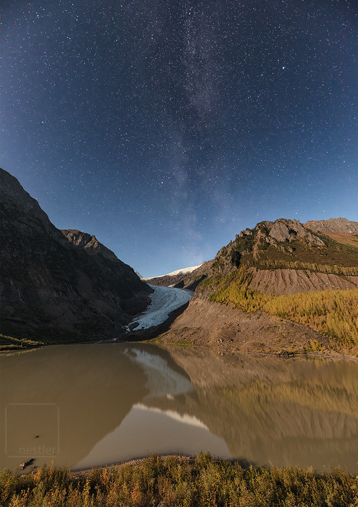 Bear Glacier near Stewart Canada