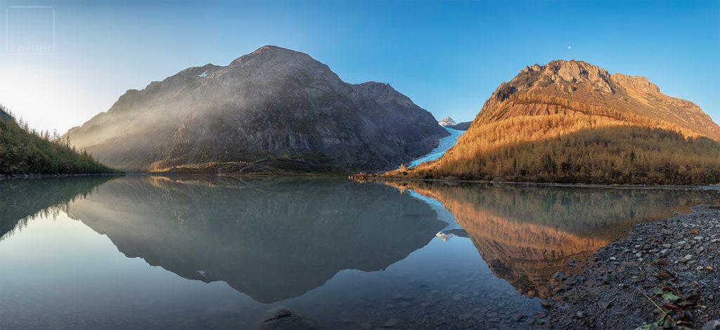 Bear Glacier at Sunrise