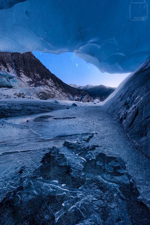 Crawl - Inside a Glacier Ice Cave in Alaska