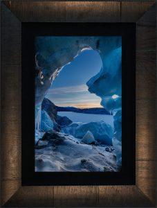 Door to Narnia Framed