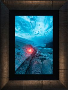 Fire and Ice Framed