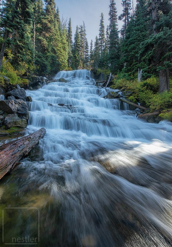 Waterfall in British Columbia