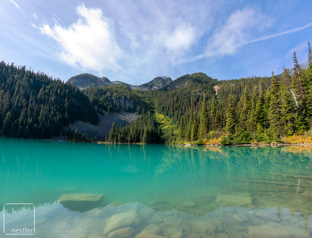 Middle Joffre Lake near Whistler, Canada BC