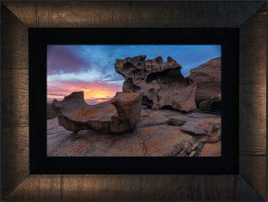 Remarkable Rocks Framed