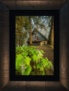 The Shrine Framed with Tabbachino Dark Ash Wood