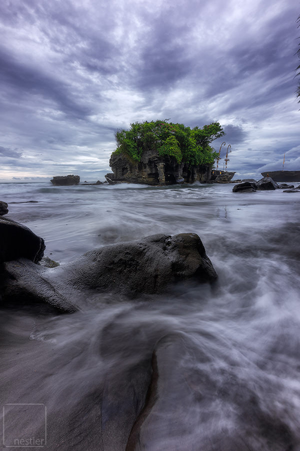 Tanahlot Temple - Moody