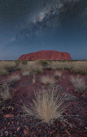 Uluru - Ayers Rock Milky Way Australia Outback