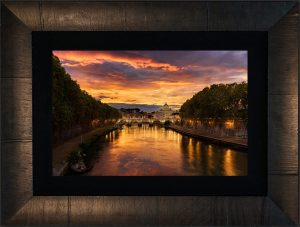 Eternal City Framed
