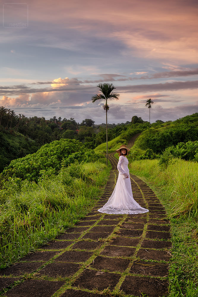 Campuhand Ridgewalk in Ubud - Wedding Dress