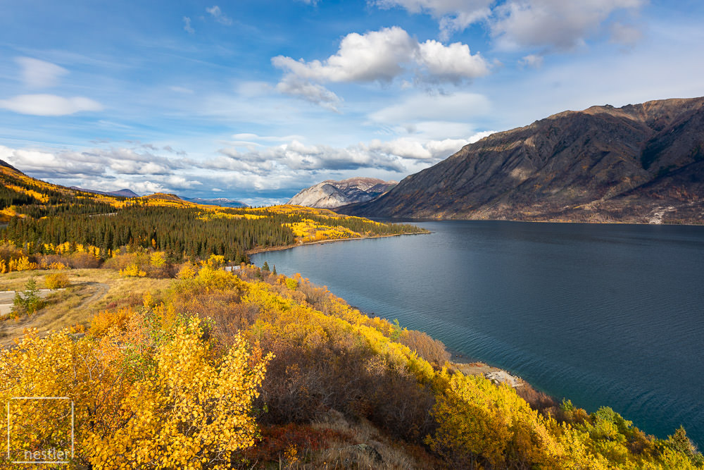 Yukon Canada with Fall Colors